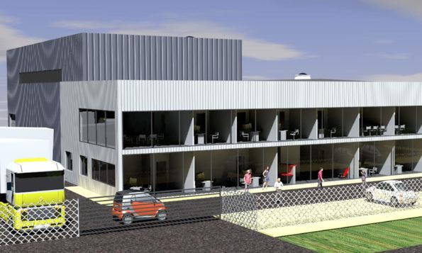 Construction atelier et bureaux à Chambéry