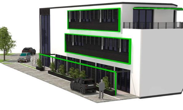 Construction de bureaux à Limonest