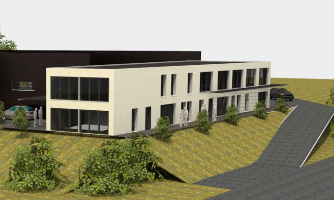 Atelier et bureaux à Saint Vallier
